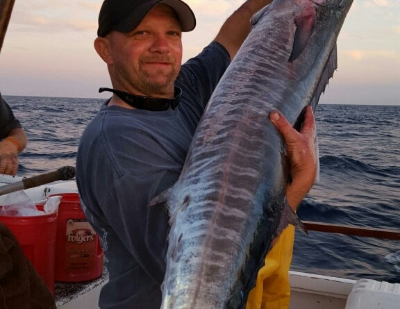 Wahoo caught at Channel Islands
