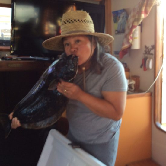 Kissing Halibut @ Chula Vista Marina