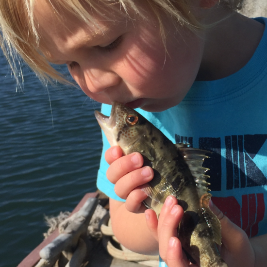 First Fish, First Kiss