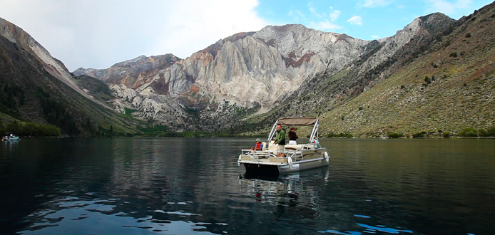 Freshwater hot spots fishrapnews for Convict lake fishing report