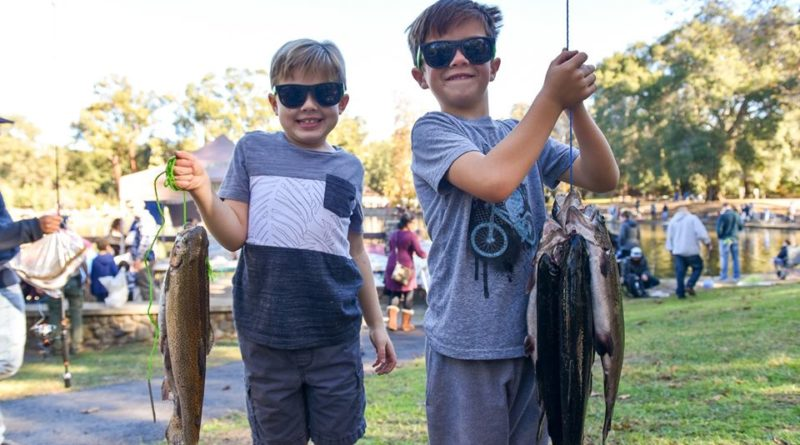 Irvine Regional Park Kids Fishing Derby